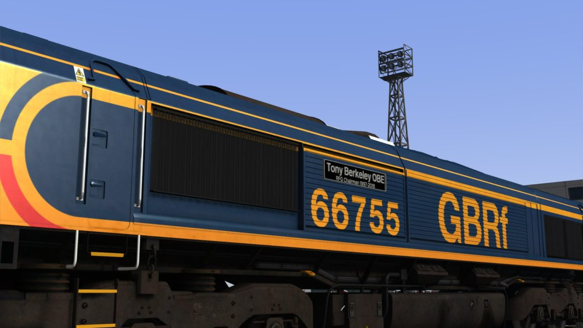 "Class 66 GBRf 66755 ""Tony Berkeley OBE"""