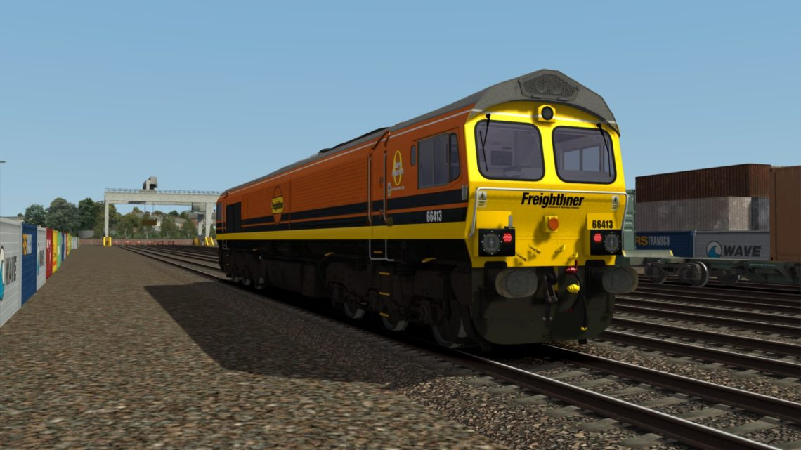 Class 66 Freightliner G&Y (66413)