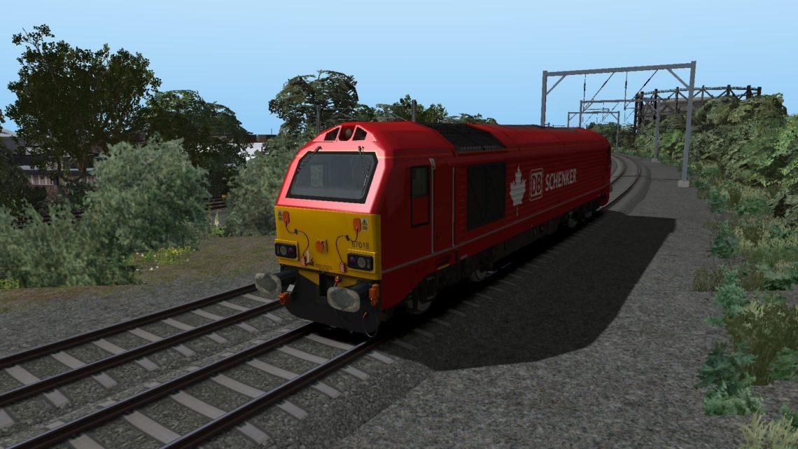 Class 67 1D01 Thunderbird Rescue