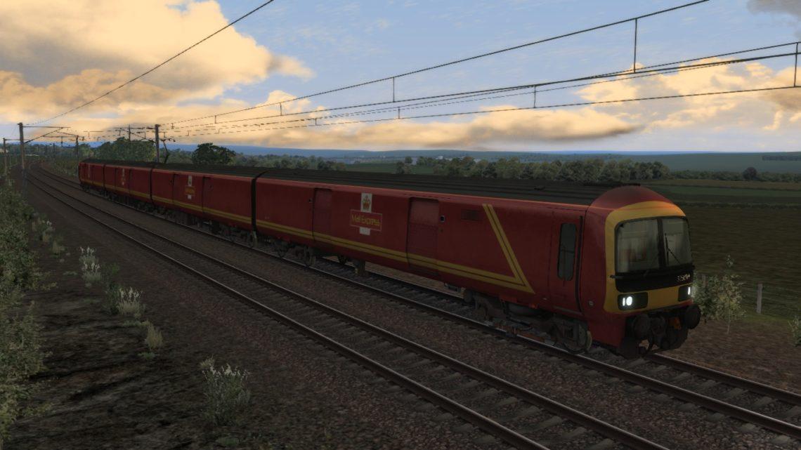 [317Dan] Low Fell Royal Mail Terminal to Willesden PRDC (Class 325)