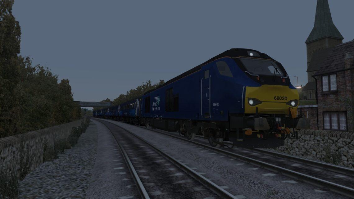 2K14 1817 Glenrothes – Edinburgh – Class 68 Loco Hauled