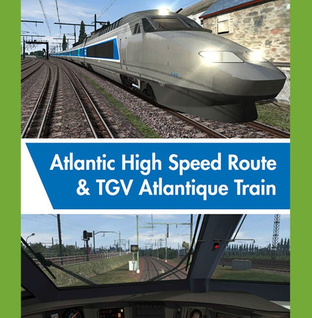Just Trains Atlantic High Speed Route