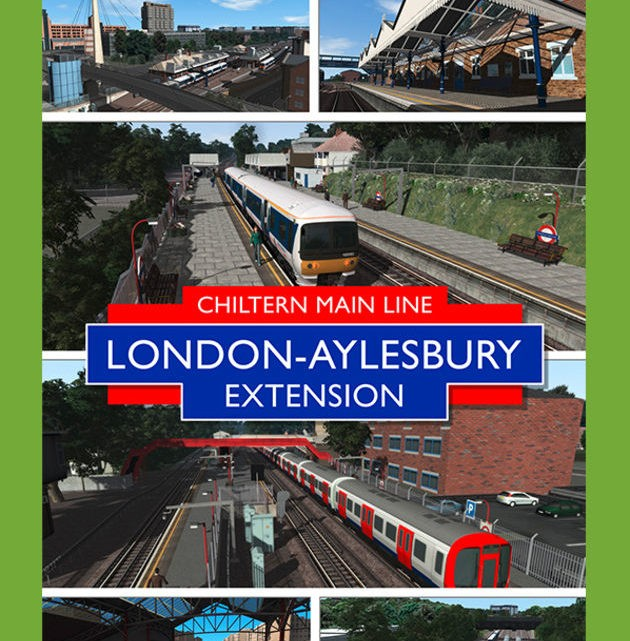 Just Trains Chiltern Main Line London-Aylesbury Extension