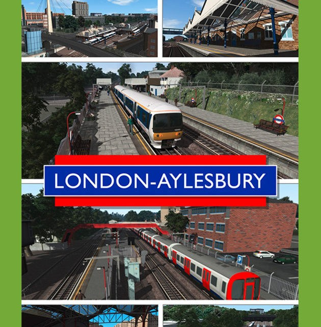 Just Trains Chiltern Mainline London to Aylesbury