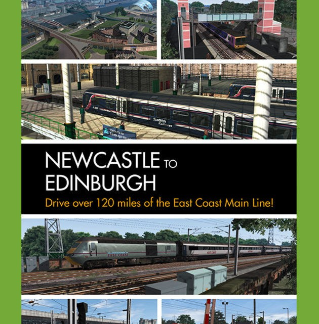 Just Trains Newcastle to Edinburgh