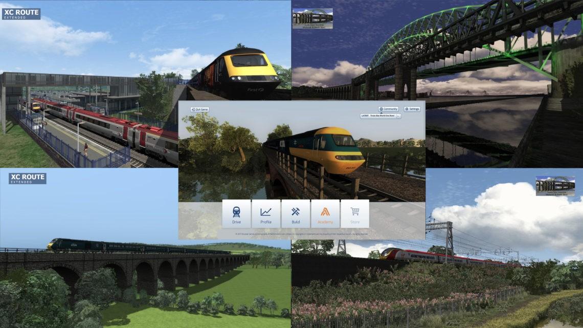 Menu Mod – Express Passenger Trains