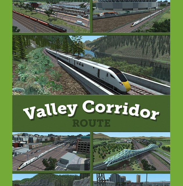 Just Trains Valley Corridor Route