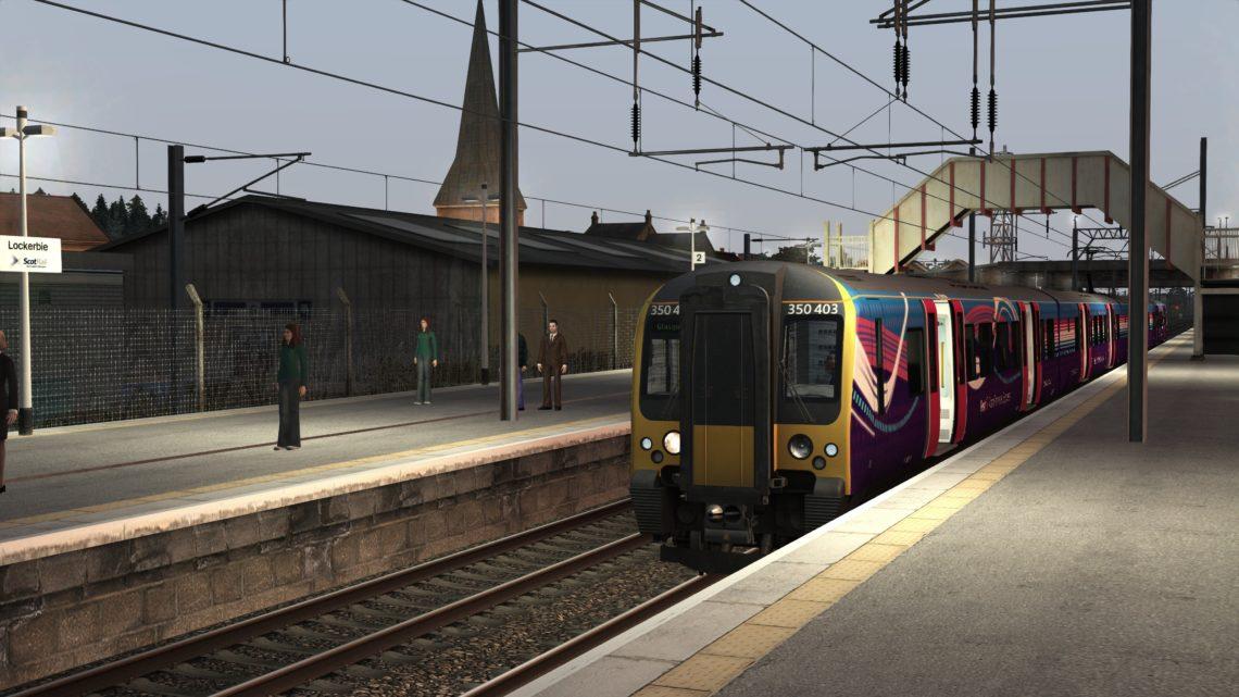 1S30 Transpennine Express to Glasgow – AP Class 350