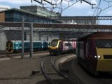 Cross Country HST pulls out of Birmingham New Street