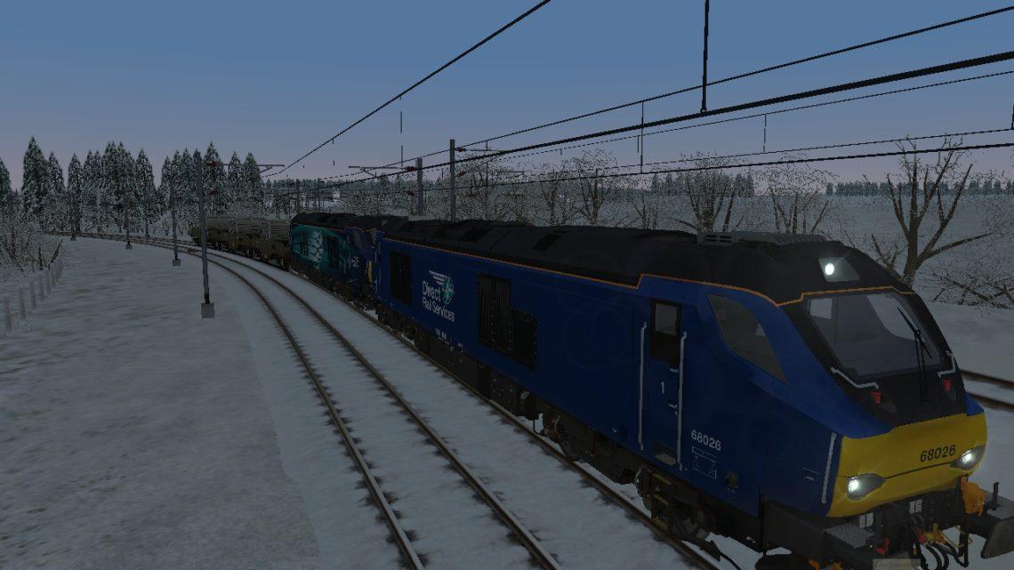 0622 Carlisle Kingmoor Sidings (Drs) to Torness Power Station
