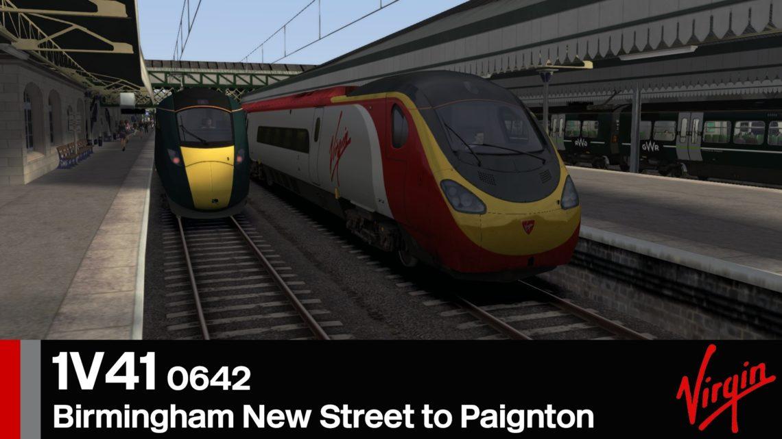 1V41 0642 Birmingham New Street to Paignton