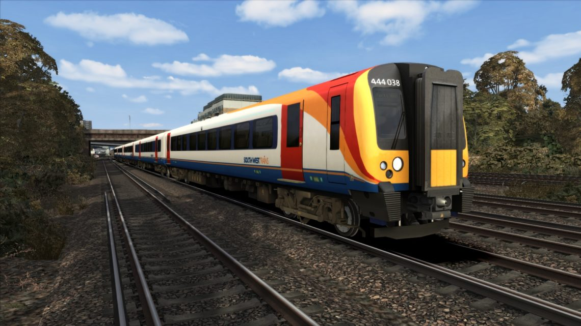 Class 444 South West Trains Texture Patch