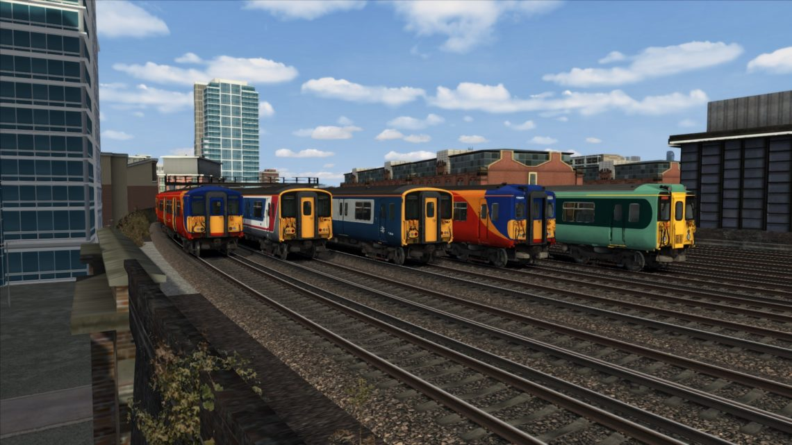 Class 455 Texture Patches