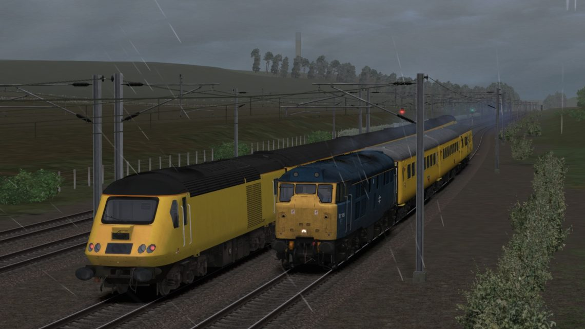 3Z04 1025 Derby R.T.C. to Heaton T&R.S.M.D.