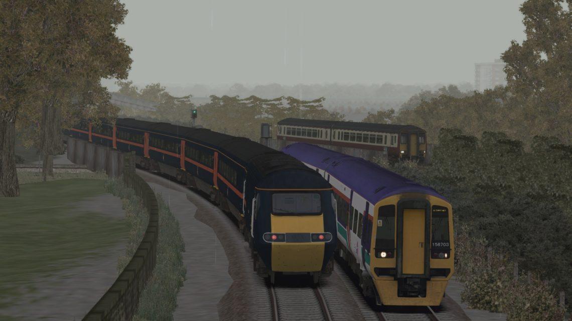 2K71 1209 Edinburgh to Glenrothes with Thornton
