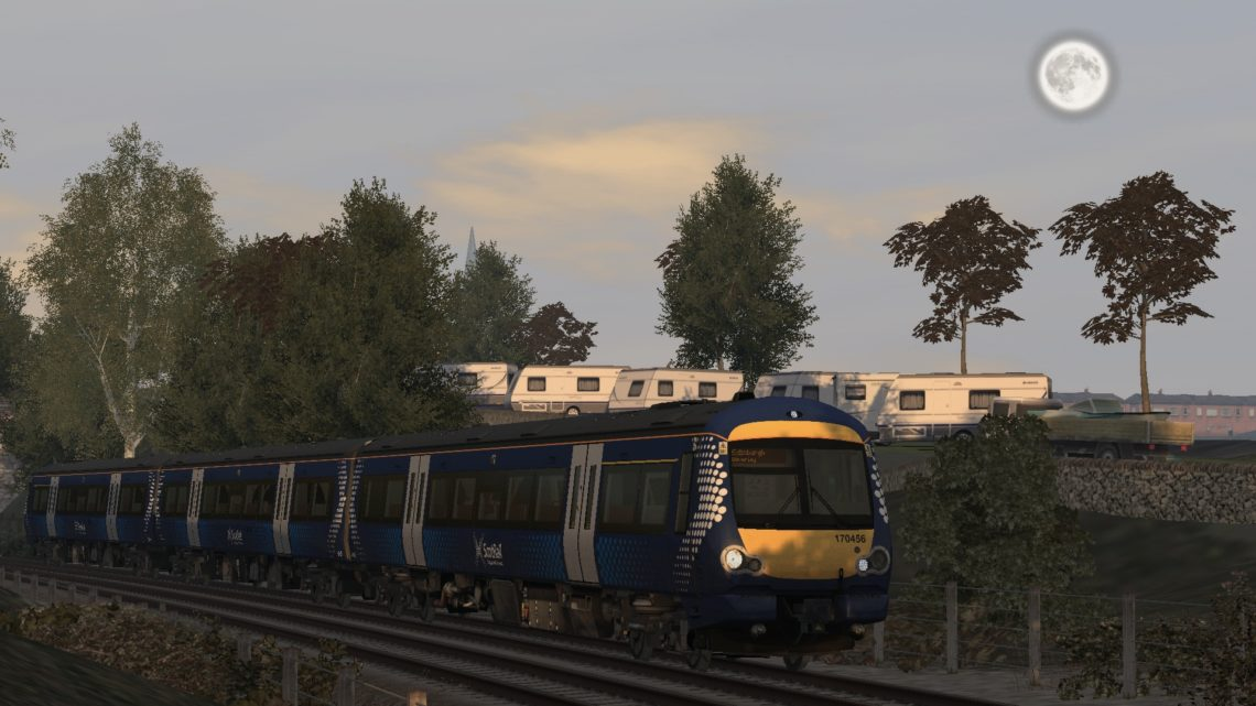1B40 1524 Inverurie to Edinburgh