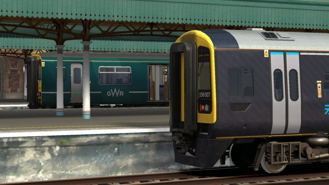 1O32 0851 Bristol Temple Meads to London Waterloo