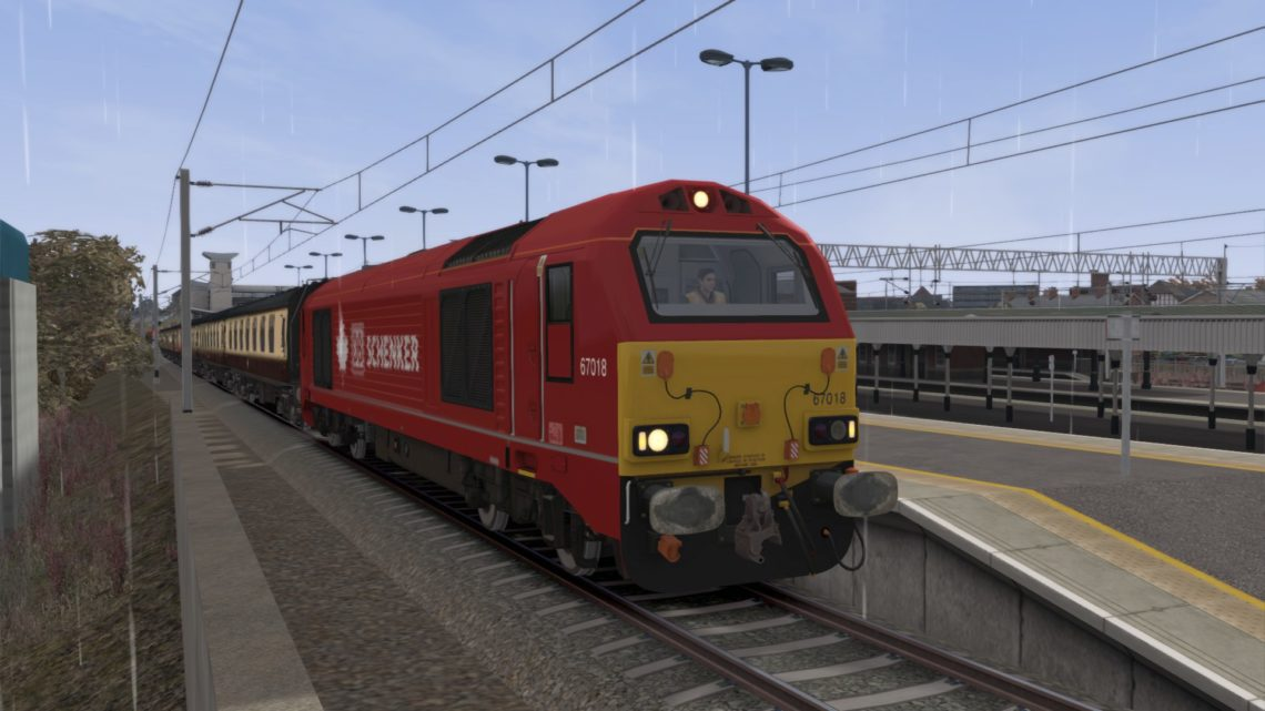 119D 0746 London Victoria to Stafford