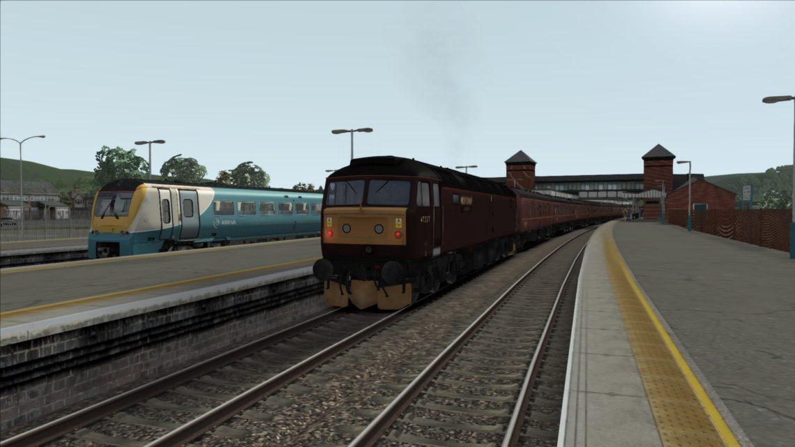 1Z84 0652 Bangor (Gwynedd) to Carlisle