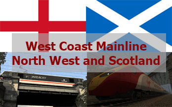 West Coast Mainline (WCML) Northwest and Scotland – Preston to Glasgow & Edinburgh