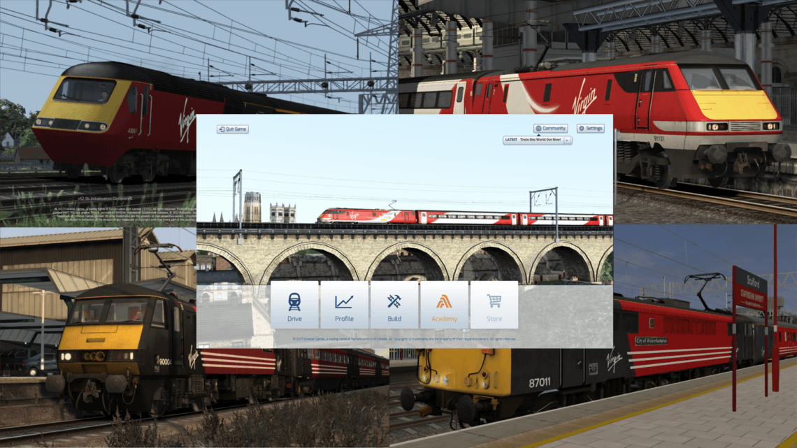 Menu Mod – Virgin Trains