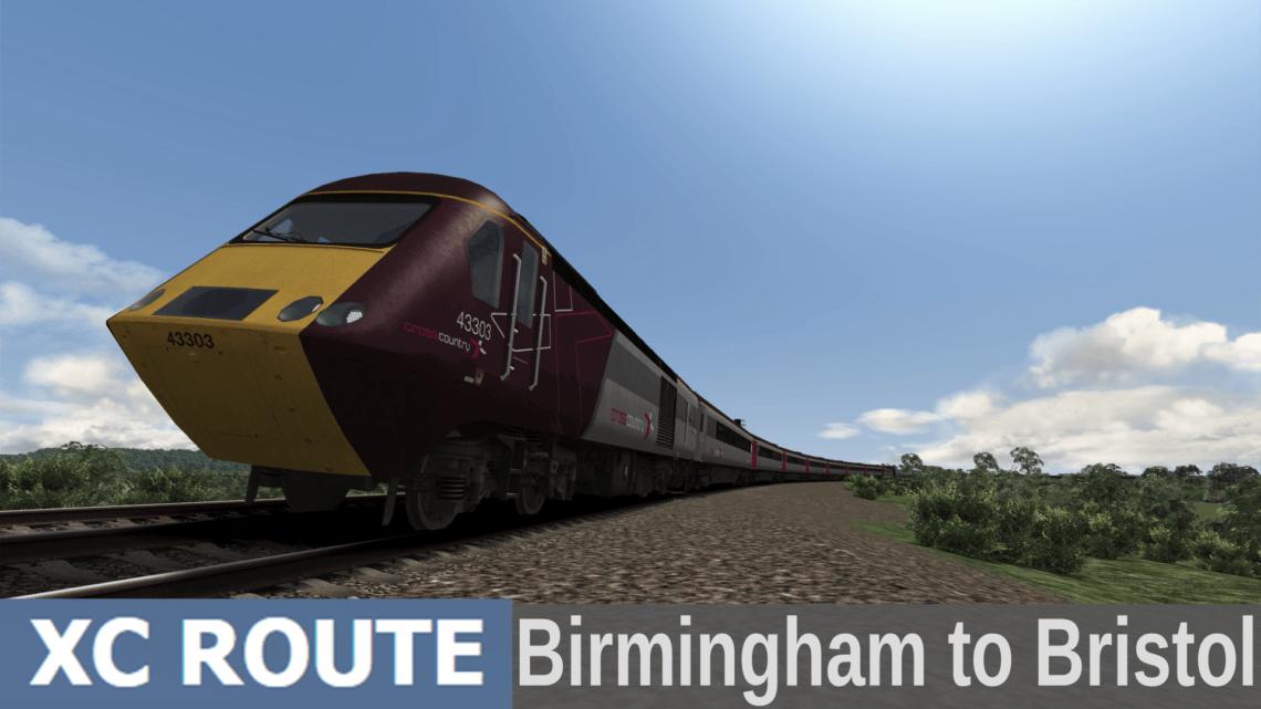 XCRoute Birmingham to Bristol