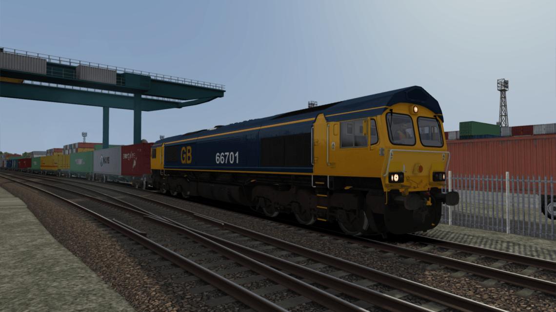 Class 66 GB Railways 66701