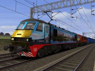 413G 0606 Mossend Euroterminal to Daventry Int Rft Recep Rfd