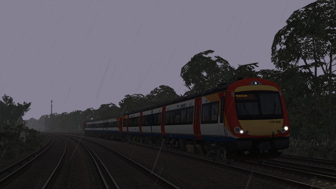 SWT Class 170 Farewell