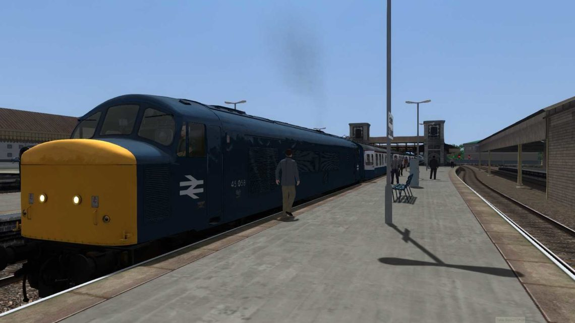 (BR 80s) 1M22 SO 11:28 Paignton To Manchester (Revamped)