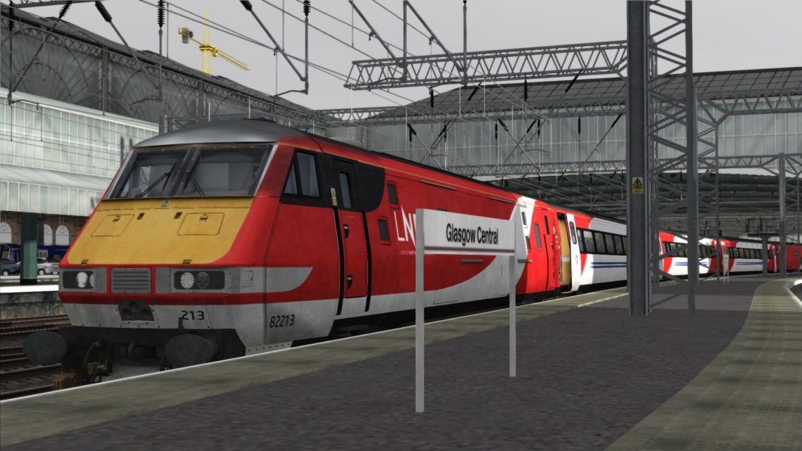 1E06 Glasgow Central to London King's Cross (Glasgow-Edinburgh)