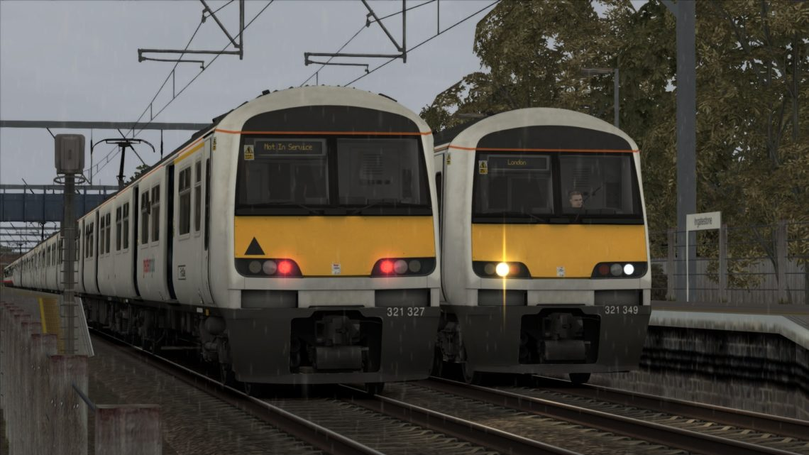 1F21 08:30 Chelmsford to London Liverpool Street