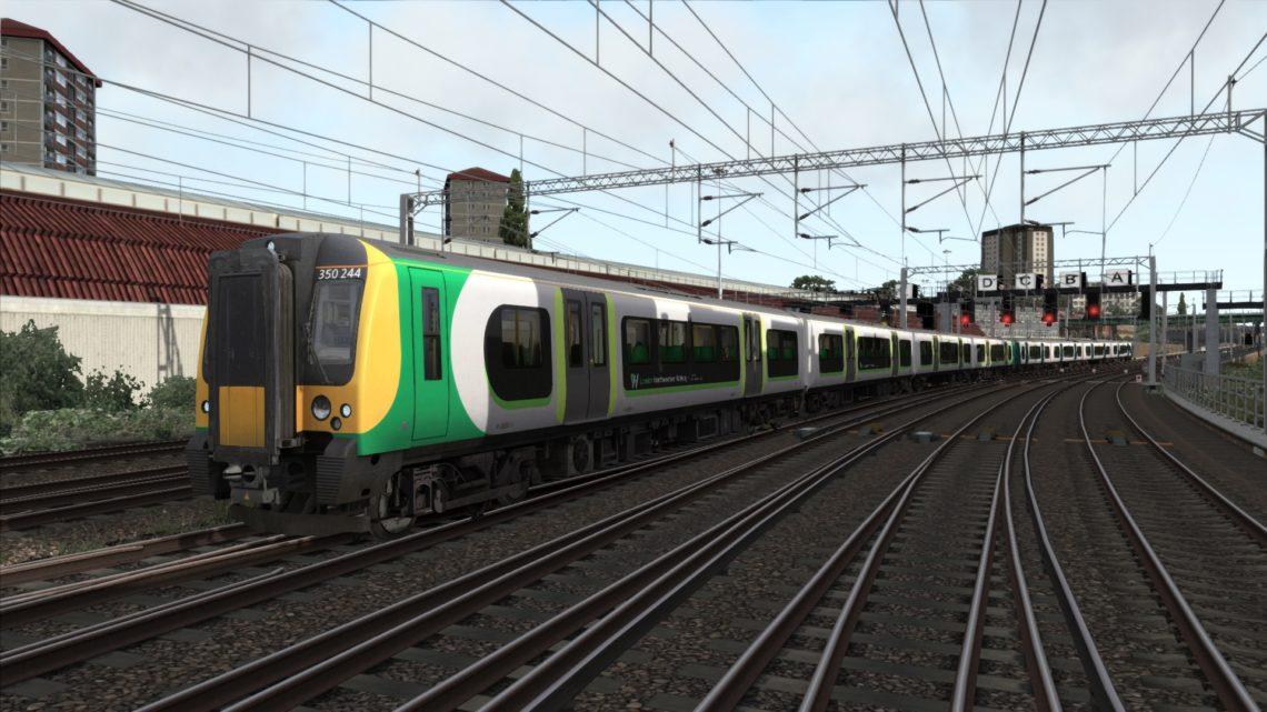 1W70 Northampton to London Euston