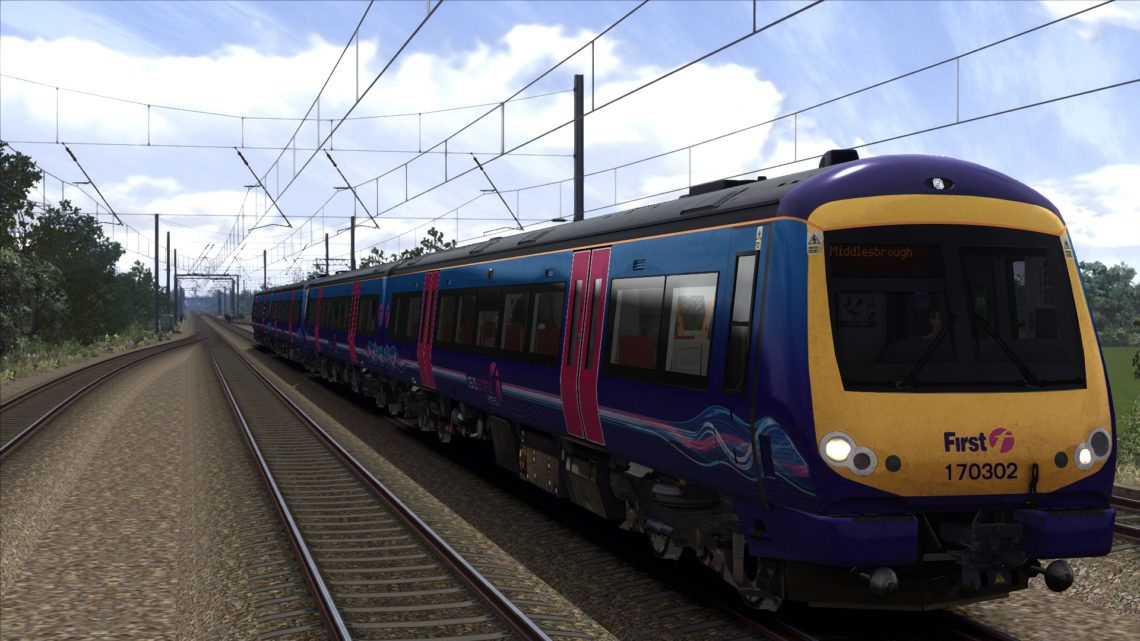 1P71 (TPE) Manchester Airport to Middlesbrough.