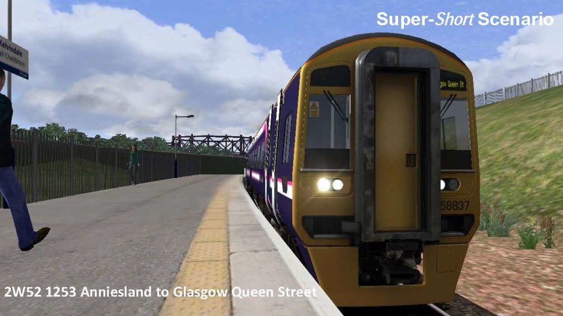2W52 1253 Anniesland to Glasgow Queen Street