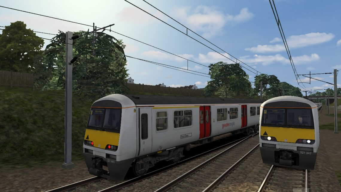 1F25 0800 Colchester Town & Clacton-on-Sea to London Liverpool Street