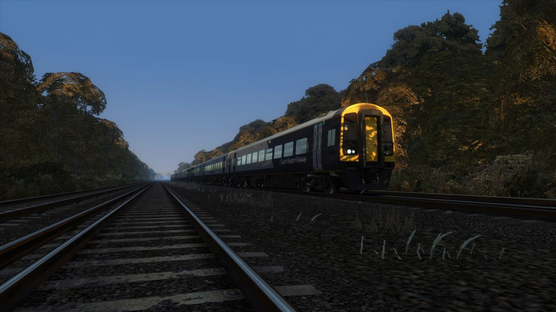 1L53: London Waterloo to Exeter St Davids