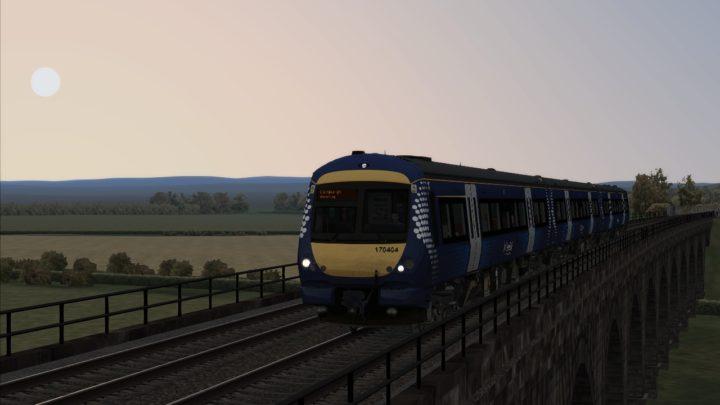 2P94 – 16:58 Dunblane to Edinburgh Waverley