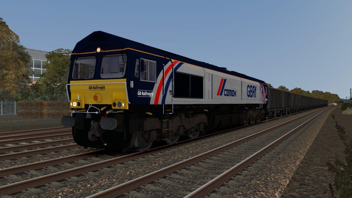 Class 66 GBRf Cemex 66780