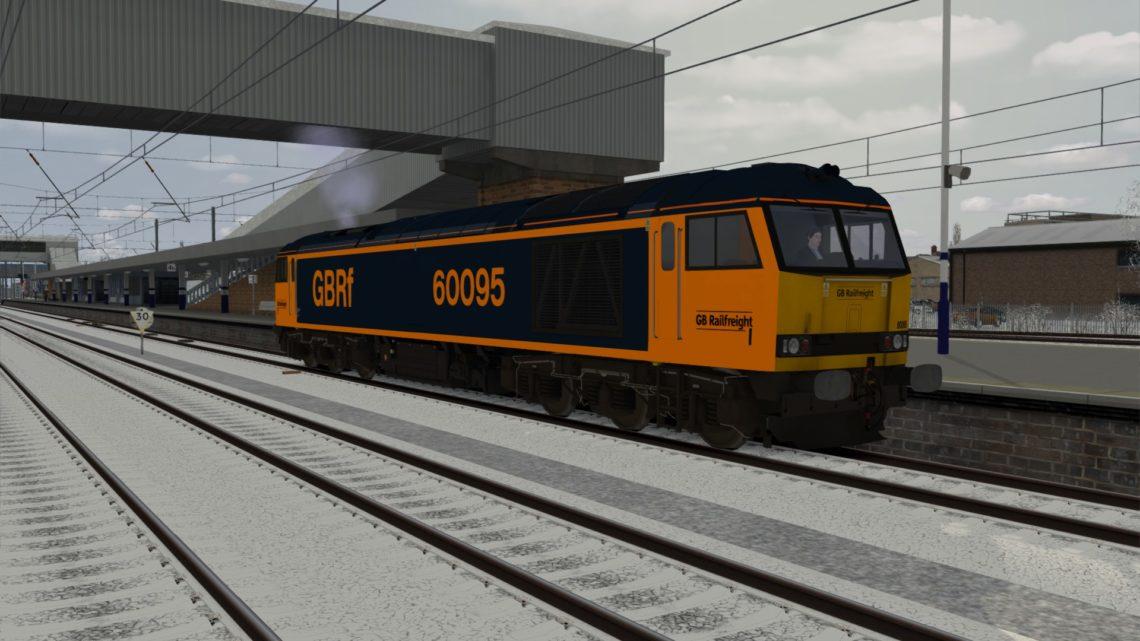 Class 60 GBRf 60095