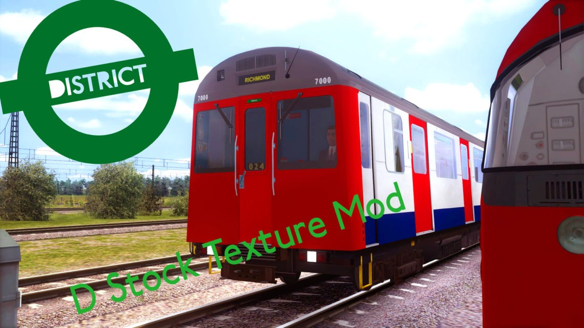 London Underground D78 Stock Texture Mod
