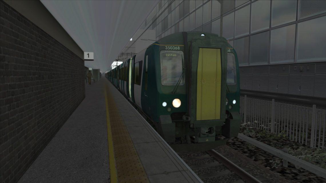 2K04 0619 Milton Keynes Central to London Euston