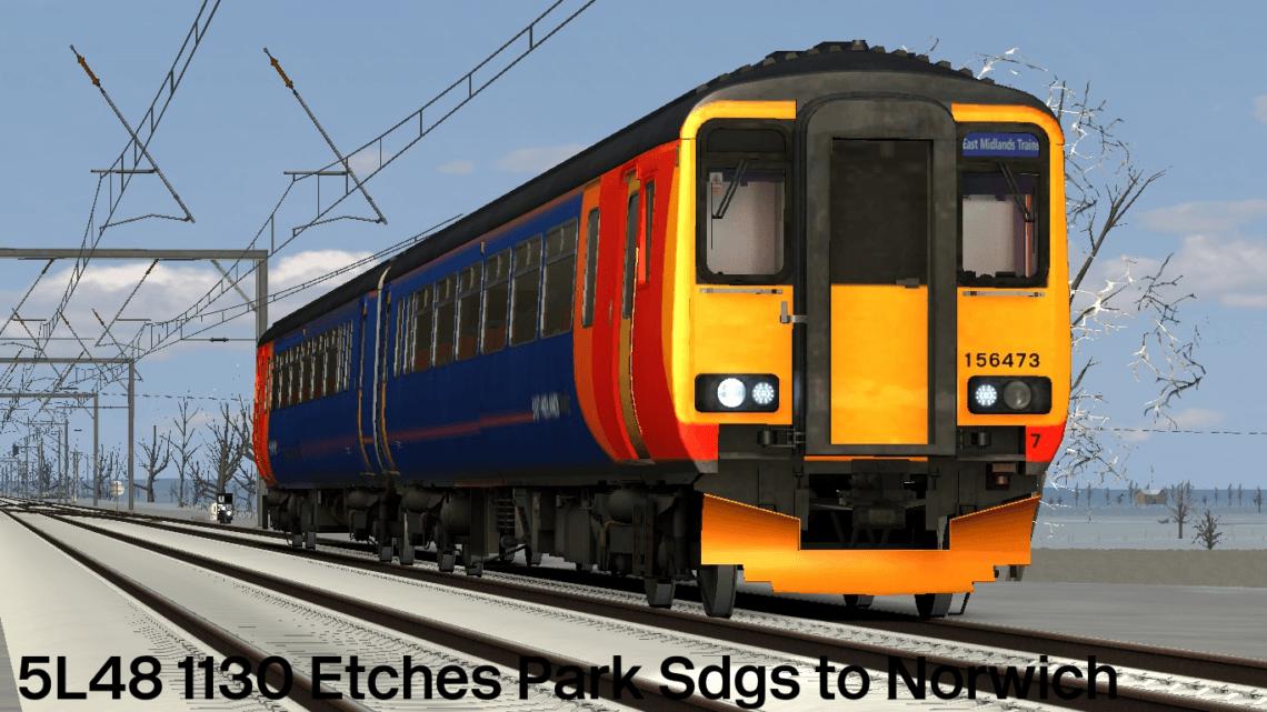 5L48: 1130 Etches Park Sdgs to Norwich