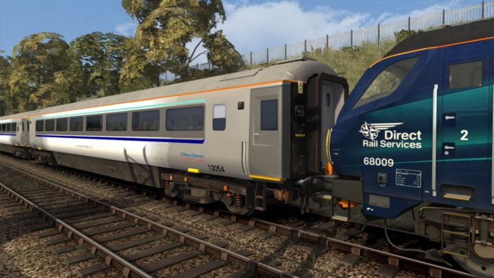 Chiltern Railways Mk3A Commuter Set