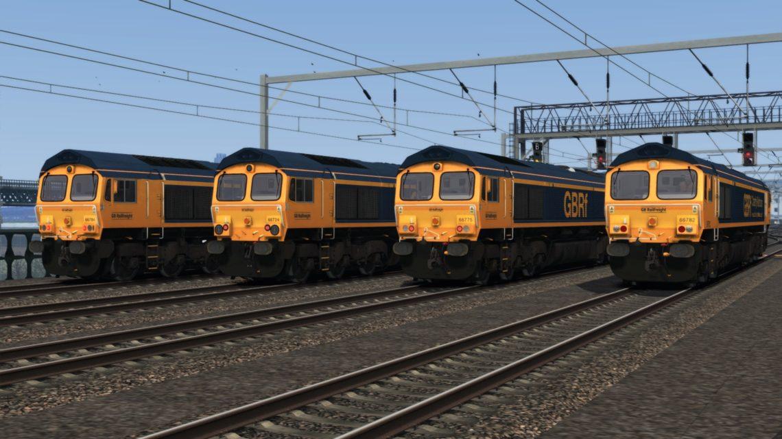 Class 66 GBRf 2018+