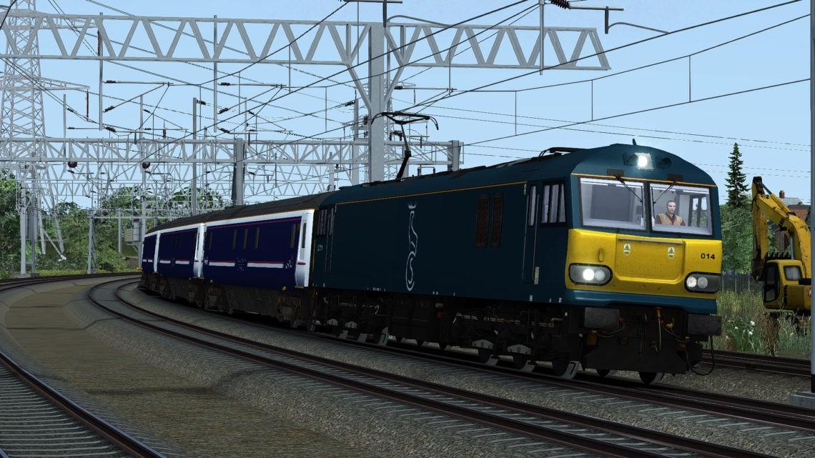 Class 92 Caledonian Sleeper