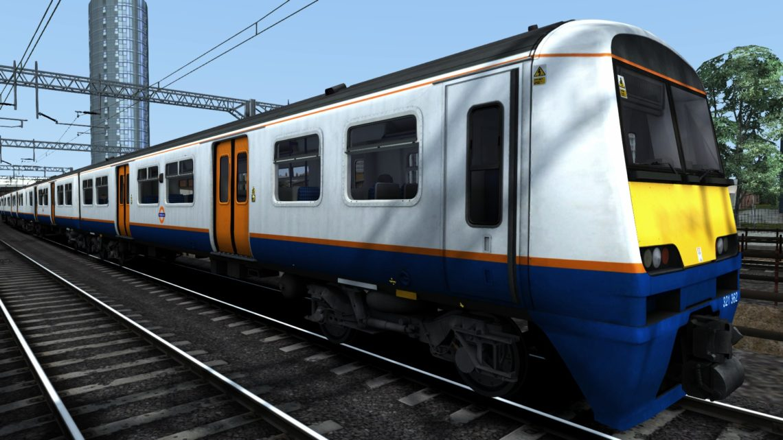 Class 321 London Overground