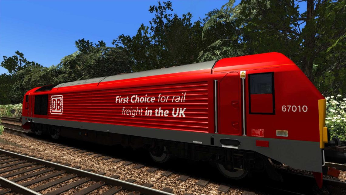 DB Cargo Class 67010