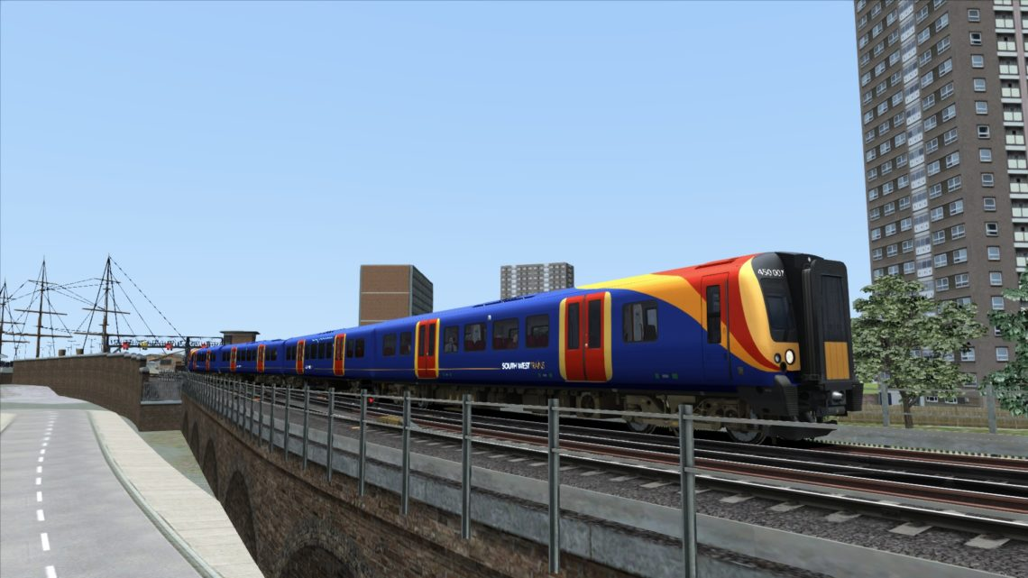 Class 450 South West Trains Texture & Physics Patch