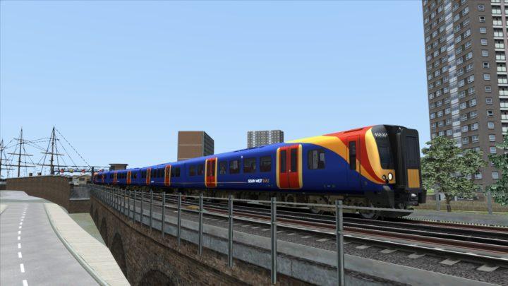Class 450 South West Trains Texture & Physics Patch